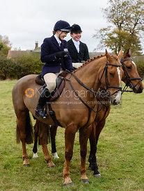 Sophie Pedlar, George Ward at Belvoir Hunt Opening Meet 2018