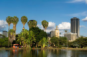Lake in Uhuru Park, Central Nairobi, Kenya