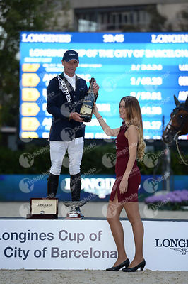 Denis LYNCH during Longines Cup of the City of Barcelona competition at CSIO5* Barcelona at Real Club de Polo, Barcelona - Spain