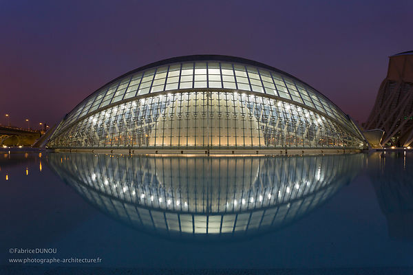 Personal work - City of Sciences - Valencia, Spain interior photographer