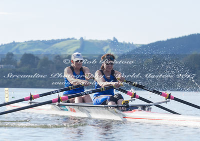 Taken during the World Masters Games - Rowing, Lake Karapiro, Cambridge, New Zealand; ©  Rob Bristow; Frame 509 - Taken on: T...