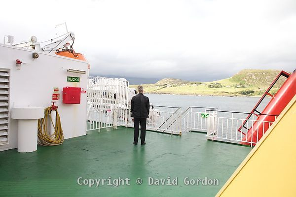 On board the Isle of Lewis