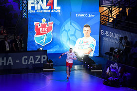 Vukic Ljubo during the Final Tournament - Semi final match - Vardar vs Meshkov Brest - Final Four - SEHA - Gazprom league, Sk...