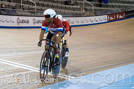 Master Women Women Keirin 1-6 Final. Ontario Track Championships, March 4, 2018