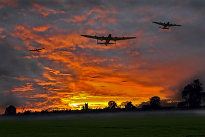 Bomber county: Lincolnshire sunset, 1943