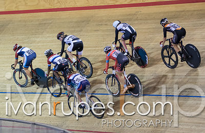 Master Women Points Race. Canadian Track Championships, Mattamy National Cycling Centre, Milton, On, September 24, 2016