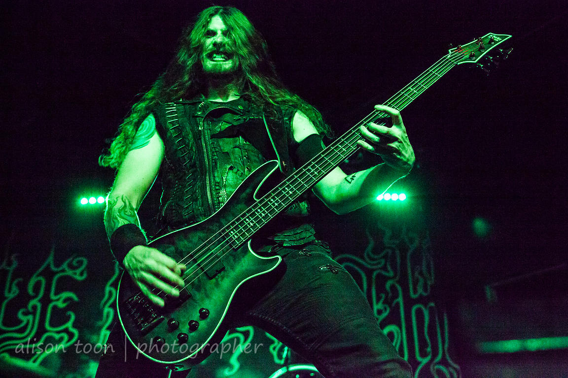 Daniel Firth, bass, Cradle of Filth
