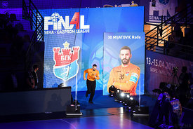 Rade Mijatovic during the Final Tournament - Semi final match - Vardar vs Meshkov Brest - Final Four - SEHA - Gazprom league,...