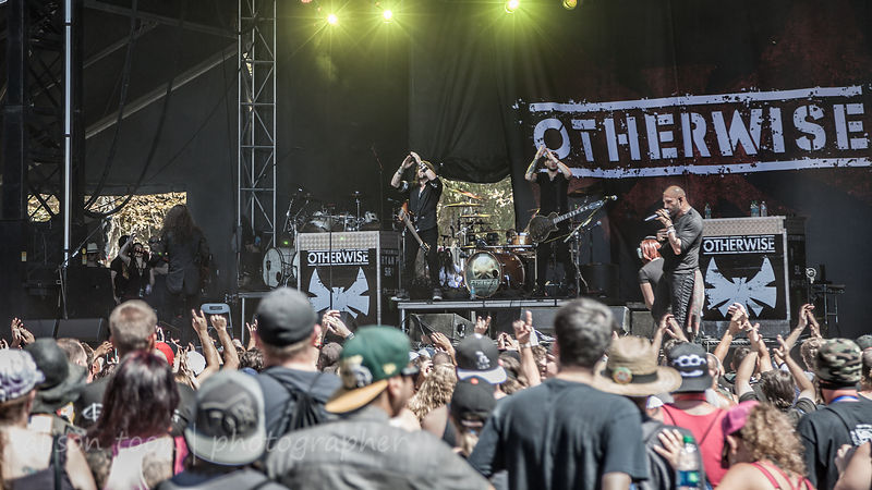 Otherwise performing at Aftershock 2014