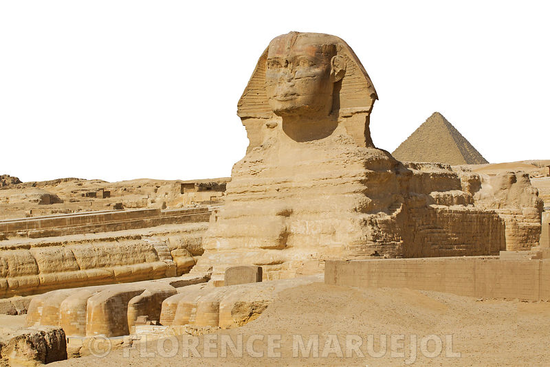 Le grand Sphinx de Guiza