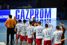 Team Breshkov Brest during the Final Tournament - Semi final match - Vardar vs Meshkov Brest - Final Four - SEHA - Gazprom le...