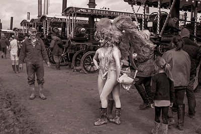 Fancy meeting you here | Dorset Steam Fair | August 2014