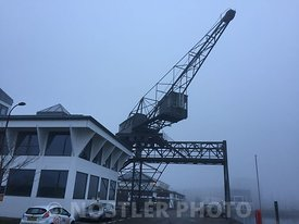 The old Unionkul coal crane