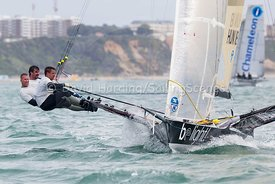 Be Light, HUN 18, 18ft Skiff, Euro Grand Prix Sandbanks 2016, 20160904137