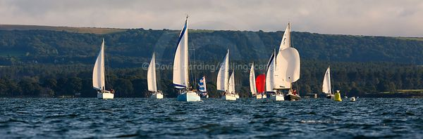Poole Yacht Club Tuesday night cruiser racing, 20180821058