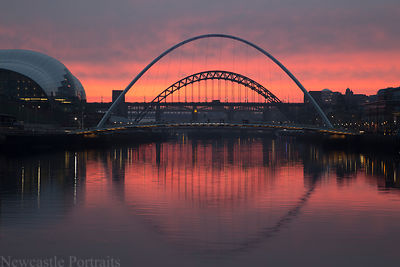 River Tyne Sunset (2)