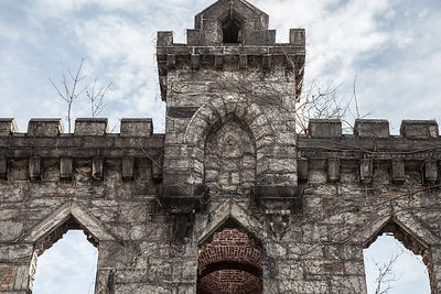 Smallpox Hospital ruins, Roosevelt Island, New York