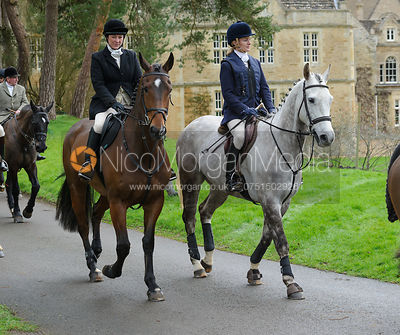 The Cottesmore Hunt at Exton Hall 4/2