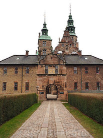 Main entrance to Rosenborg Castle