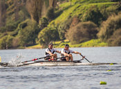Taken during the World Masters Games - Rowing, Lake Karapiro, Cambridge, New Zealand; Tuesday April 25, 2017:   5784 -- 20170...