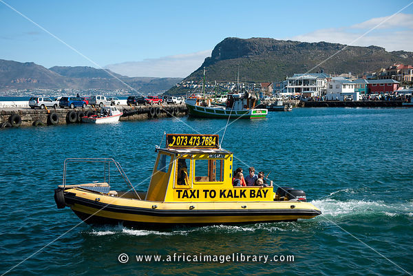 Water taxi, Kalk Bay, False Bay, South Africa