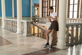 Students at the Cuban National Ballet School in Havana, Cuba.  There are approximately 3,000 students and it is the biggest b...