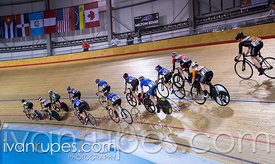 Junior Women Elimination Race. Canadian Track Championships (U17/Junior/Para), April 1, 2017