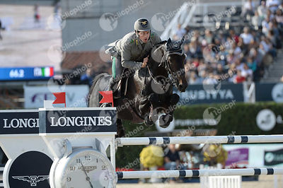 Emanuele GAUDIANO ,(ITA), ADMARA 2 during Longines Cup of the City of Barcelona competition at CSIO5* Barcelona at Real Club ...