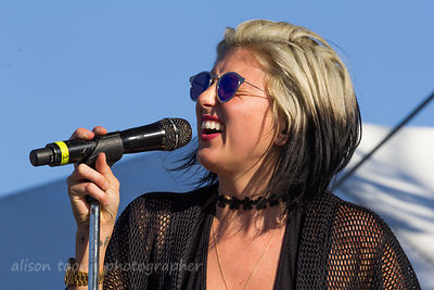 Sarah Barthel, vocals, Phantogram