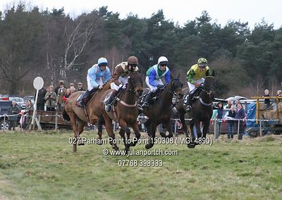2008-03-15  Parham Point to Point Meet