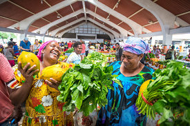Port Vila Markets, Efate