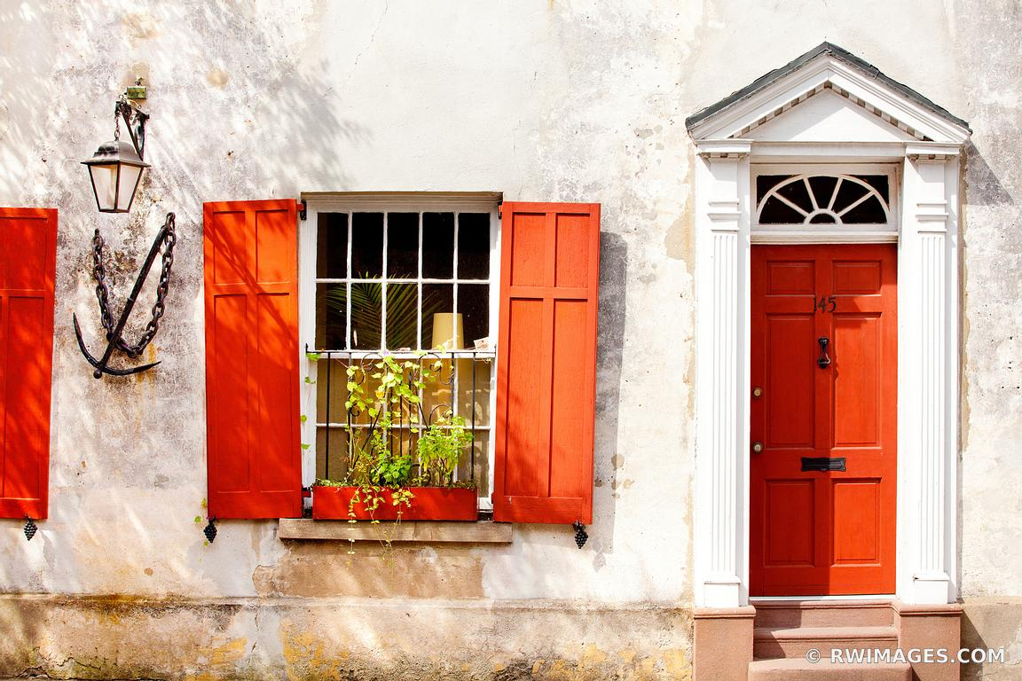 RED DOOR CHARLESTON SOUTH CAROLINA