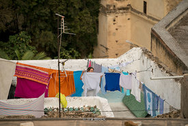 Scenes of the Medina in Fes, Morocco.
