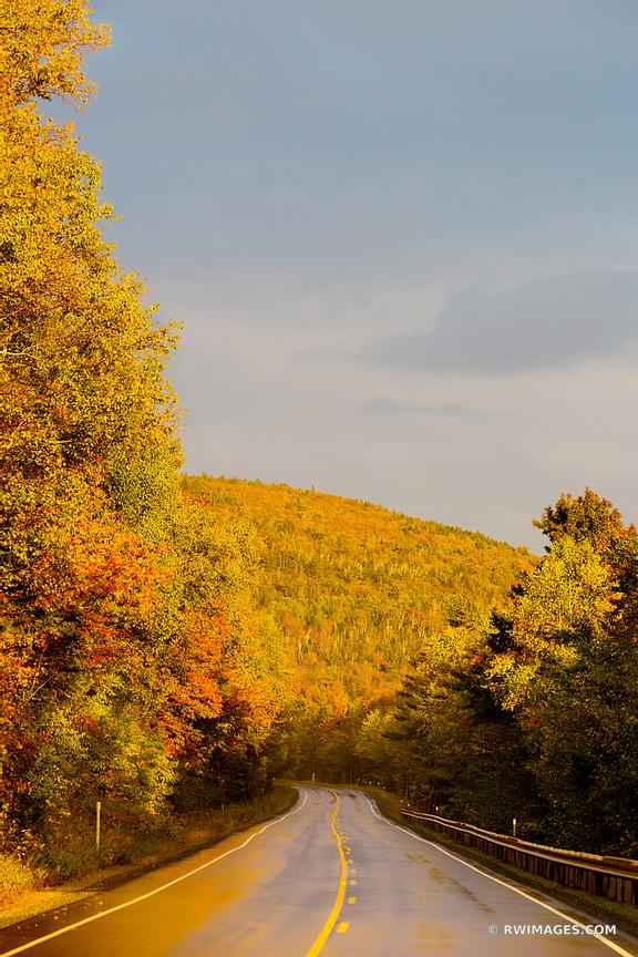 KANCAMAGUS HIGHWAY ROUTE 112 WHITE MOUNTAINS NEW HAMPSHIRE COLOR FALL AUTUMN FOLIAGE