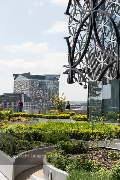 The Library of Birmingham and The Cube, Birmingham, England