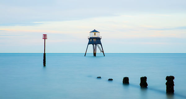 'Dovercourt Lighthouse' 2017: Photographer: Neil Emmerson (as yet not produced but I'm likely to test the image on white alum...