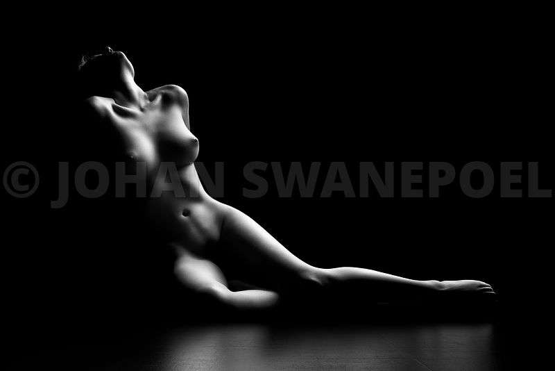 Nude woman bodyscape