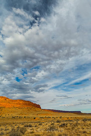 Sunset Light on the Cliffs in Vermilion Cliffs National Monument