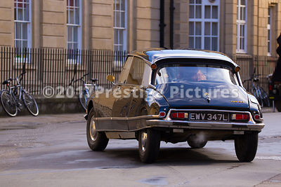 Ciroen DS20 Vintage Car being filmed for Transformers 5 in Oxford