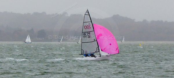 RS200 1679, Parkstone YC Winter Dinghy Series 2018, 20181201047