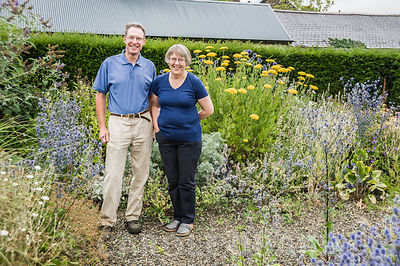 Frances and Iain MacDonald. The Bay Garden, Camolin, Co Wexford, Ireland