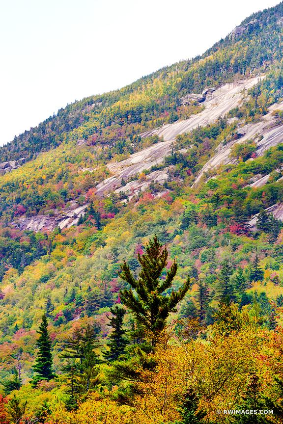 CRAWFORD NOTCH STATE PARK NEW HAMPSHIRE FALL COLORS WHITE MOUNTAINS NEW HAMPSHIRE