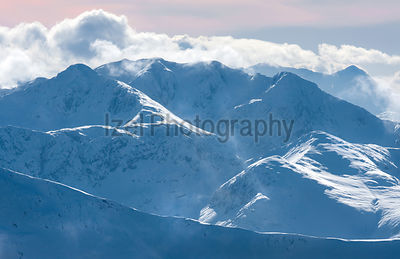 Mamores Highlands of Scotland - Mountain Photography