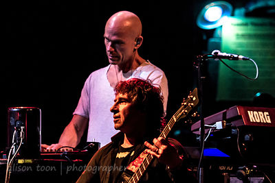 Mark Kelly and Pete Trewavas, Marillion