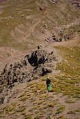 Hiking at Aconcagua