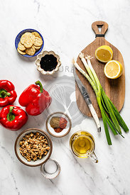 Ingredients for muhammara