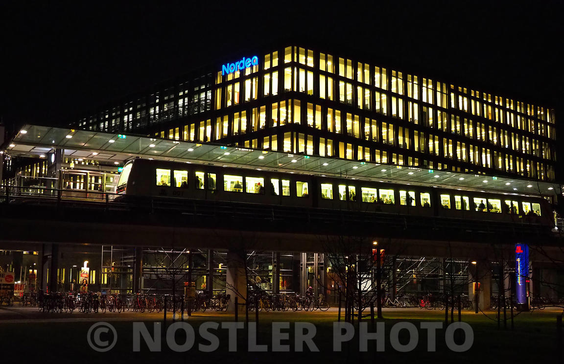 DR Byen station and Nordea