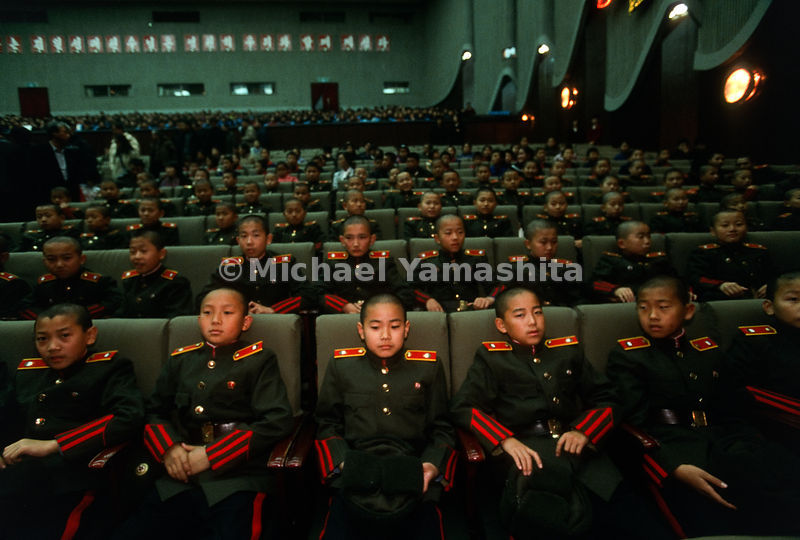 Youth Assembly, Pyongyang, North Korea