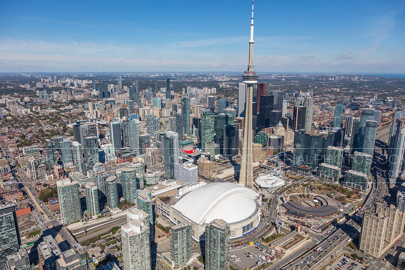 Rogers Centre, CN Tower - Toronto