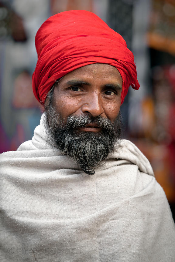 Humble sadhu (holy man) in Pushkar, Rajasthan, India